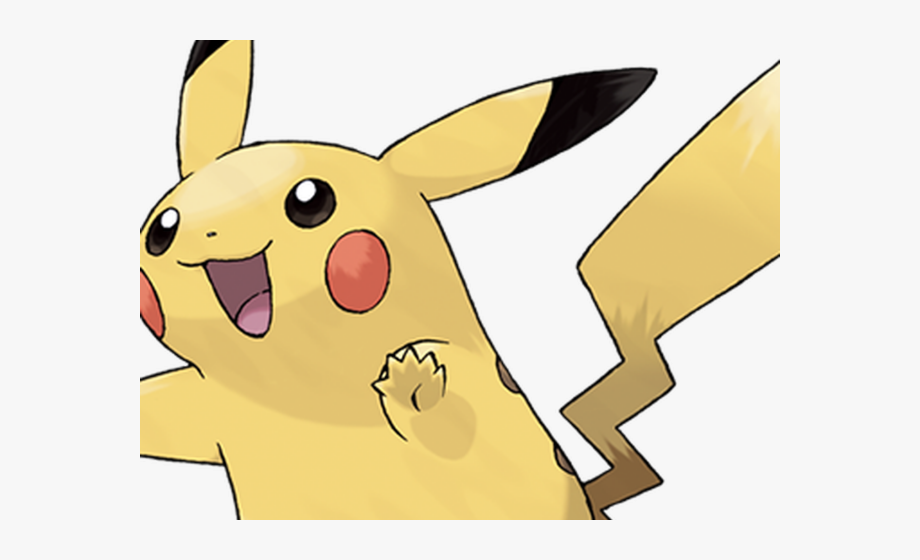 Intense. Pikachu clipart transparent