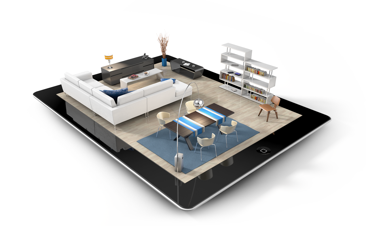 Interior design png. Tech tool for the