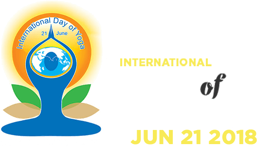 International day of yoga logo png. Ministry ayush give a