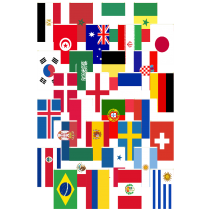 International flags banner png. Buy ft x world
