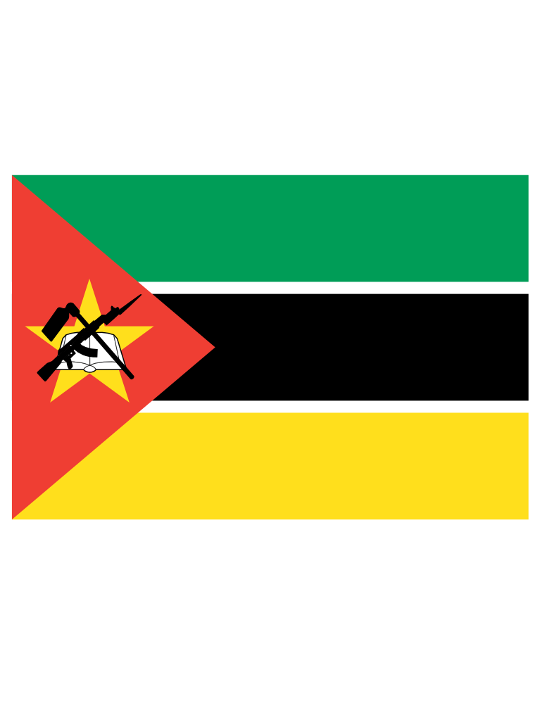 International flags banner png. This is the mozambican