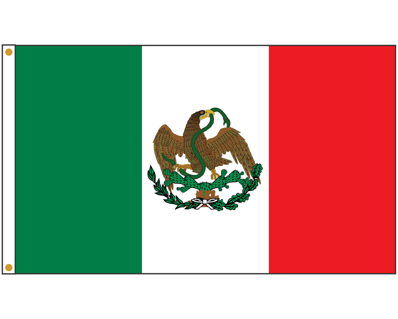 International flags banner png. Mexico flag x north
