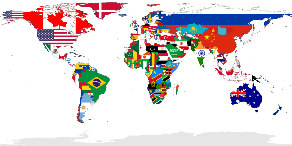 International flags banner png. File flag map of