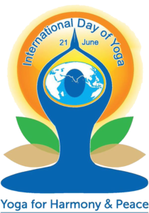 International yoga day logo png. The was celebrated on