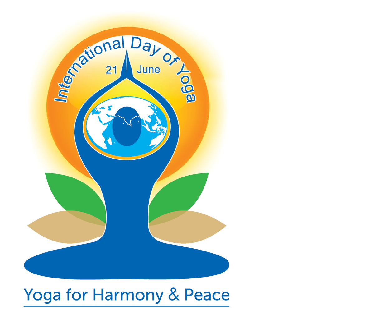 International yoga day logo png. We look forward to