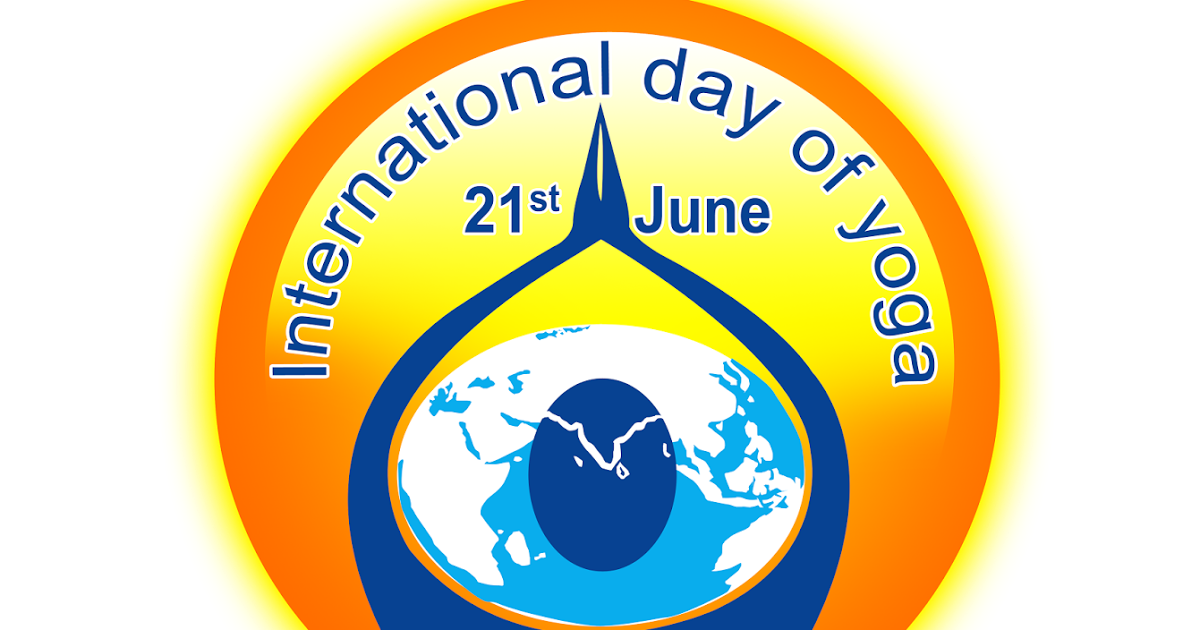 International yoga day logo png. Psd file free downloads