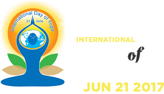 International yoga day logo png. June