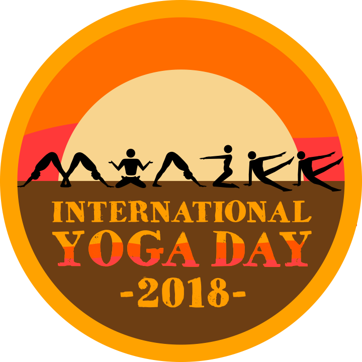 International yoga day logo png. A clip of from