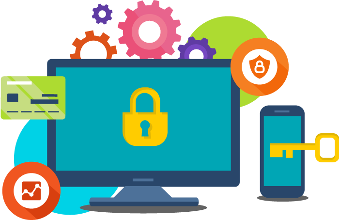 Internet clipart business technology. Security for small digital