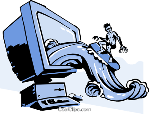 Internet clipart surf internet. World wide web x
