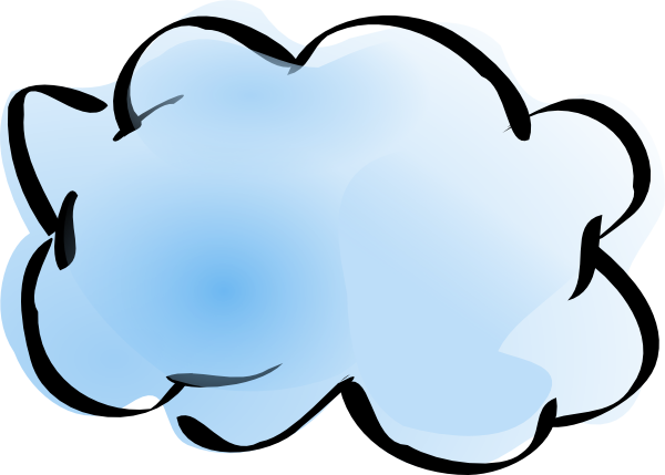 Internet clipart visio. Cloud group with items