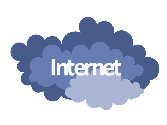 Internet clipart visio. Lovely cloud on architecture