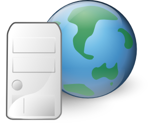 Internet clipart website. Web server icon clip