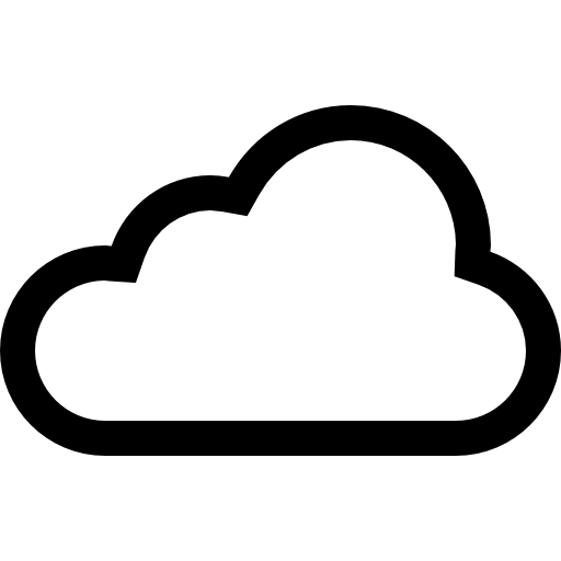 Png cloud transparent images. Internet clipart internet sign vector black and white