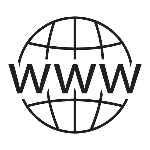 Website icon png white. Internet globe free icons