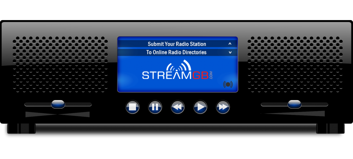 Internet radio png. Submit your station to