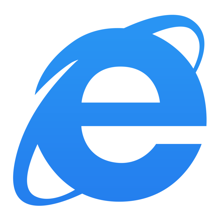 Internet transparent icon windows 10. Explorer by dtafalonso on