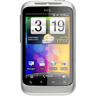 Internet transparent mobile. Htc wildfire s set