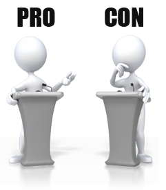Internet transparent pro con. Security pros and cons