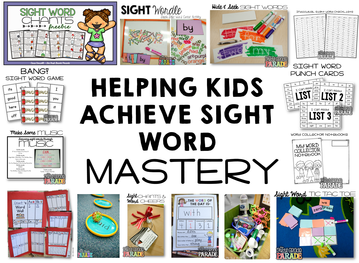 Intervention 2d image png. Sight word mastery the