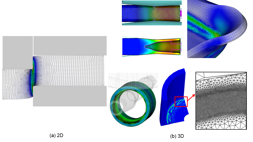 Intervention 2d image png. Examples of specially constructed