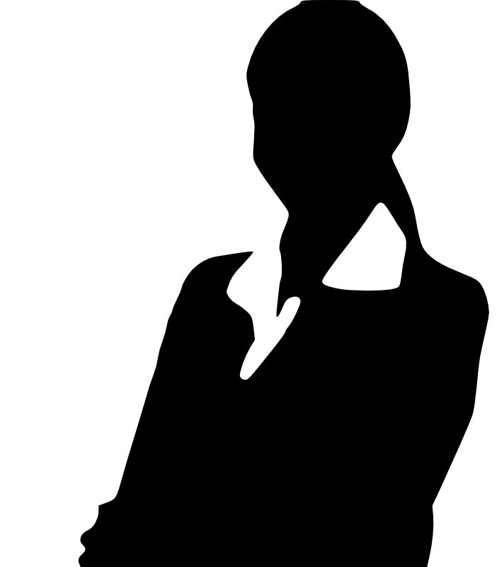 Interview clipart silhouette. How to create a