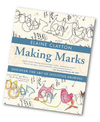 Drawing diary creative. Making marks book elaine