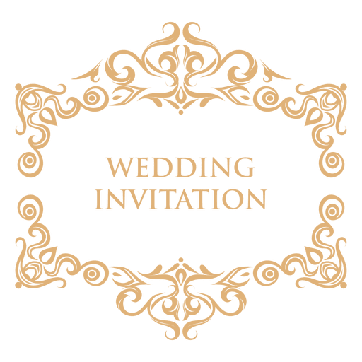 Invitation backgrounds png. Wedding label transparent svg