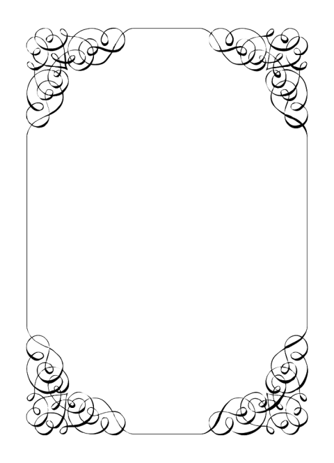 Invitation border png. Wedding free images toppng