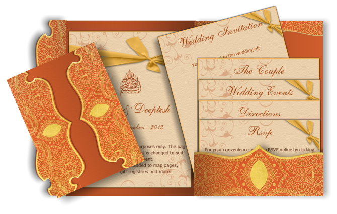 Wedding cards png. Pocket style email indian