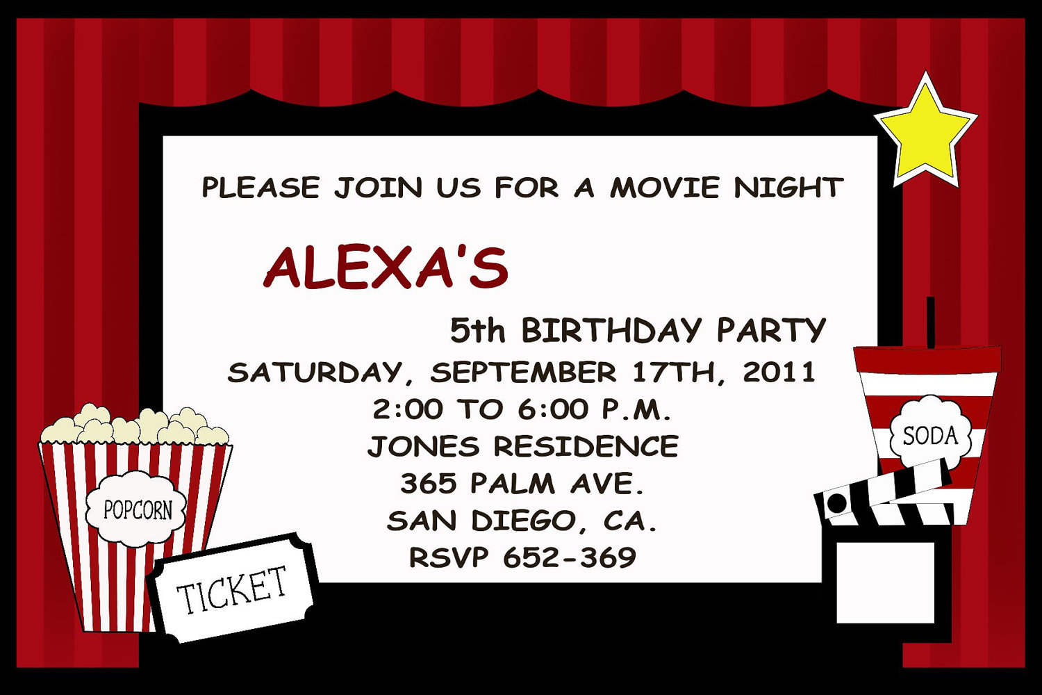 20 Invitation Clipart Movie For Free Download On Ya Webdesign