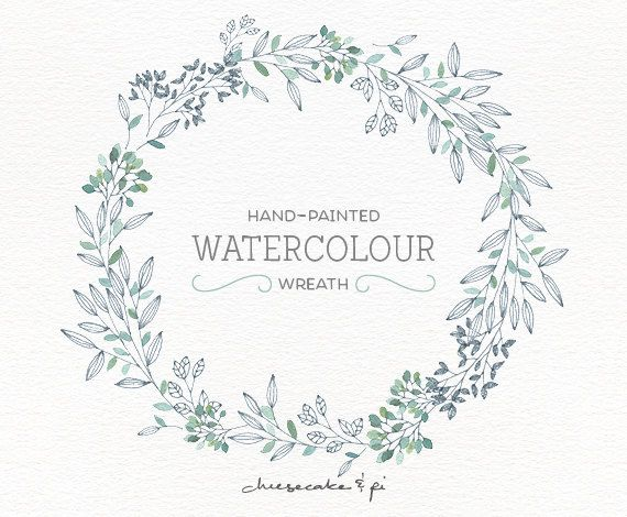 Invitation clipart wreath. Watercolor png floral flower