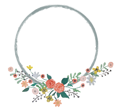 Invitation clipart wreath. Free baby shower template
