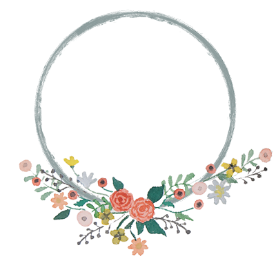 Invitation clipart wreath. Emmy in her element