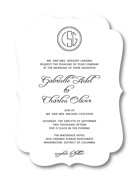 Wedding invitations png. Put it on paper