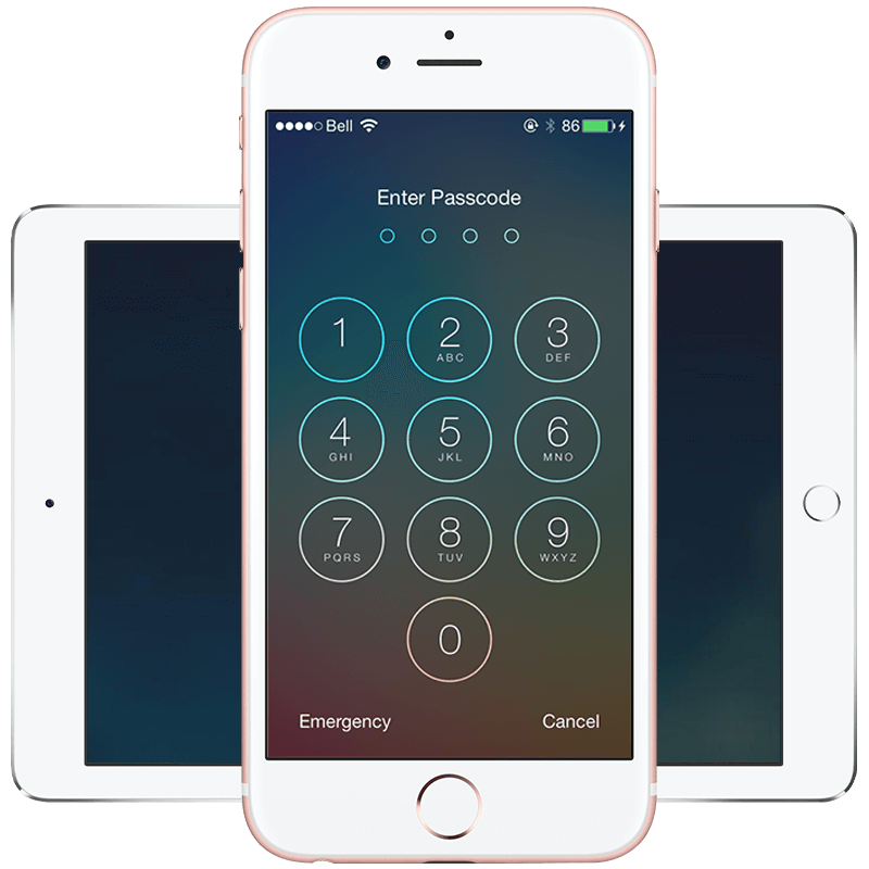 Ios 7 lockscreen buttons png. Lock screen for iphone