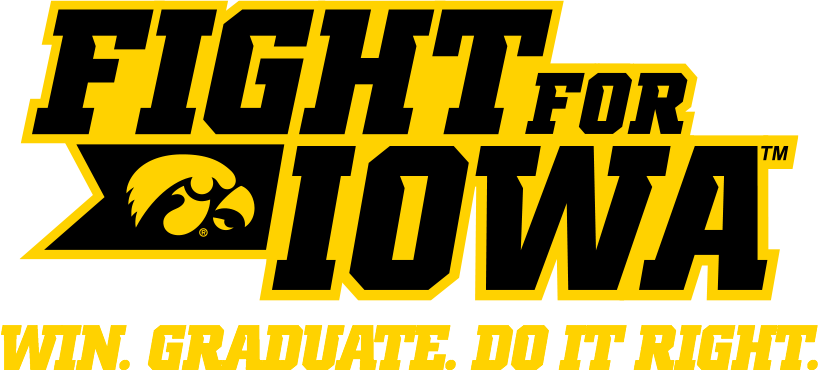 Iowa hawkeye logo png. University of fight for