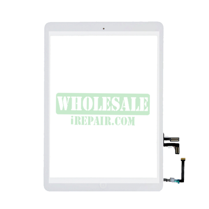 Ipad air white png. Digitizer with home button