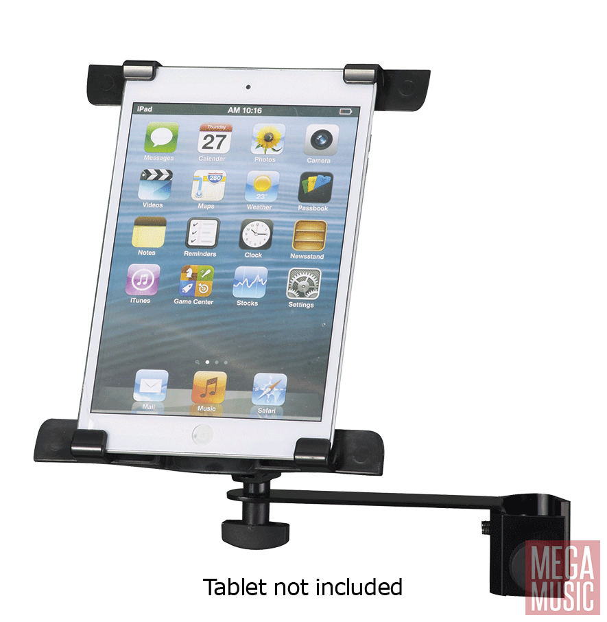 Ipad clip mount. Xtreme universal tablet holder