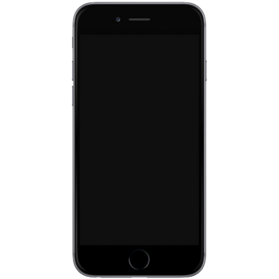 Iphone 7 blank screen png. Template transparent stickpng