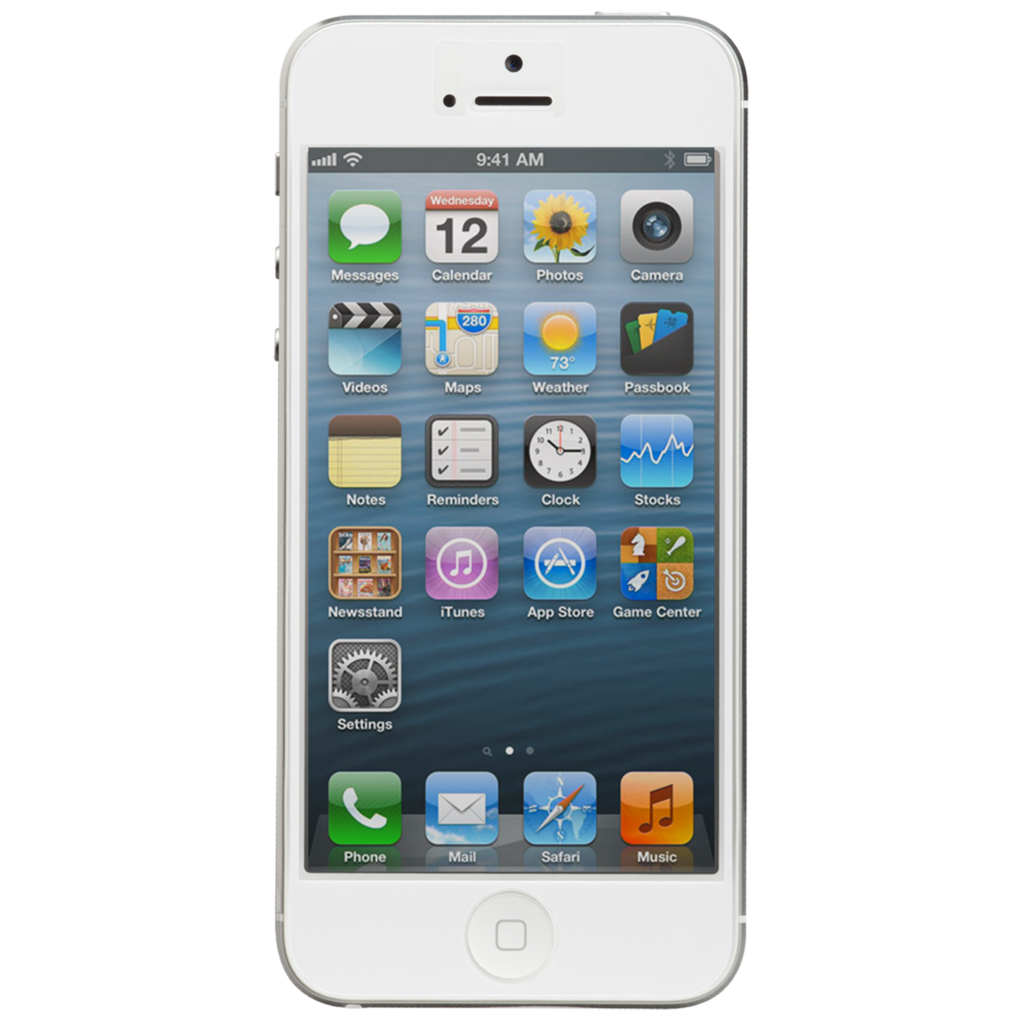Iphone 5 white png. Apple gb upward mobile