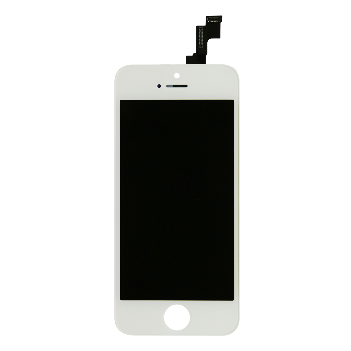 Iphone 5 white png. Cell phone repair parts