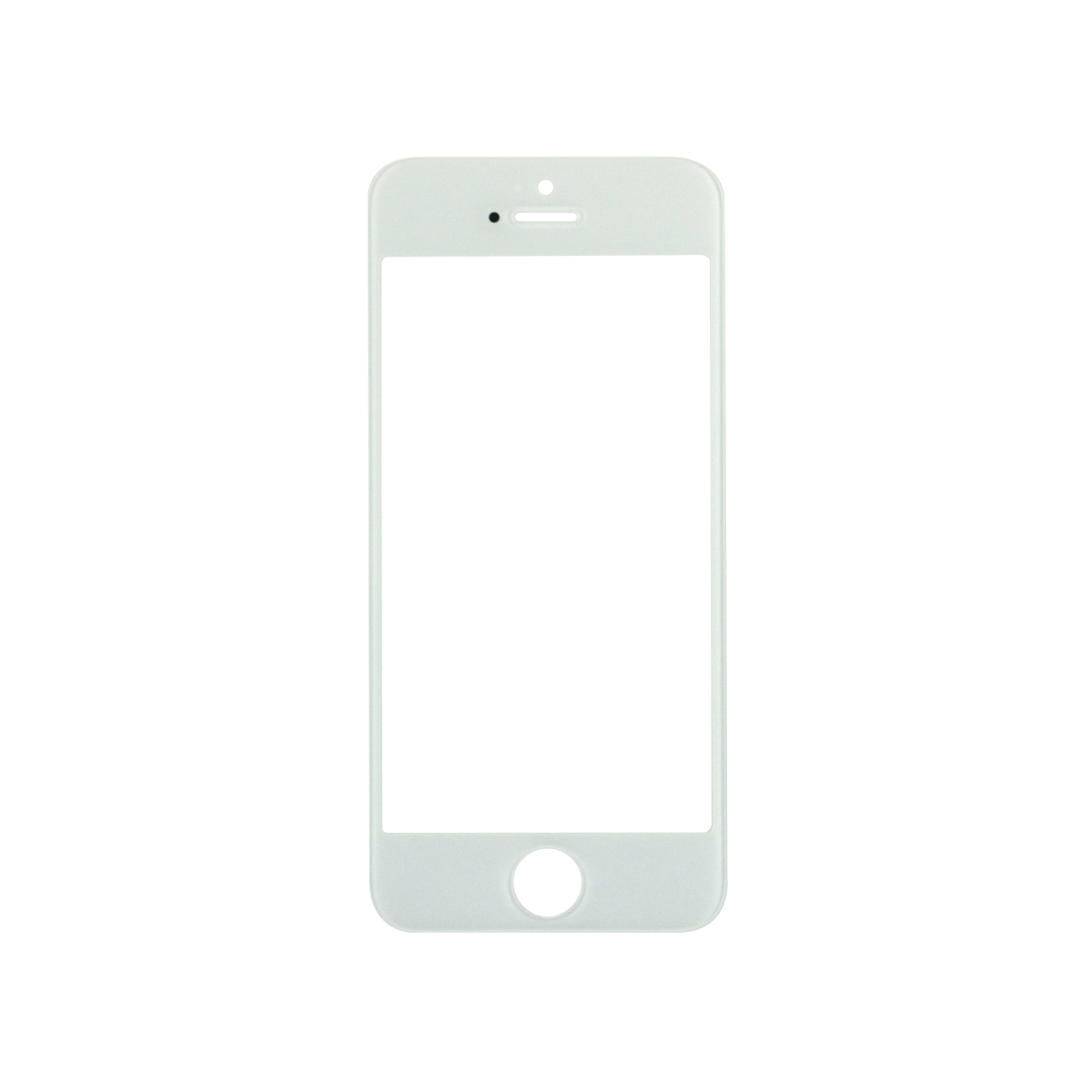 Iphone 5 white png. C s glass lens