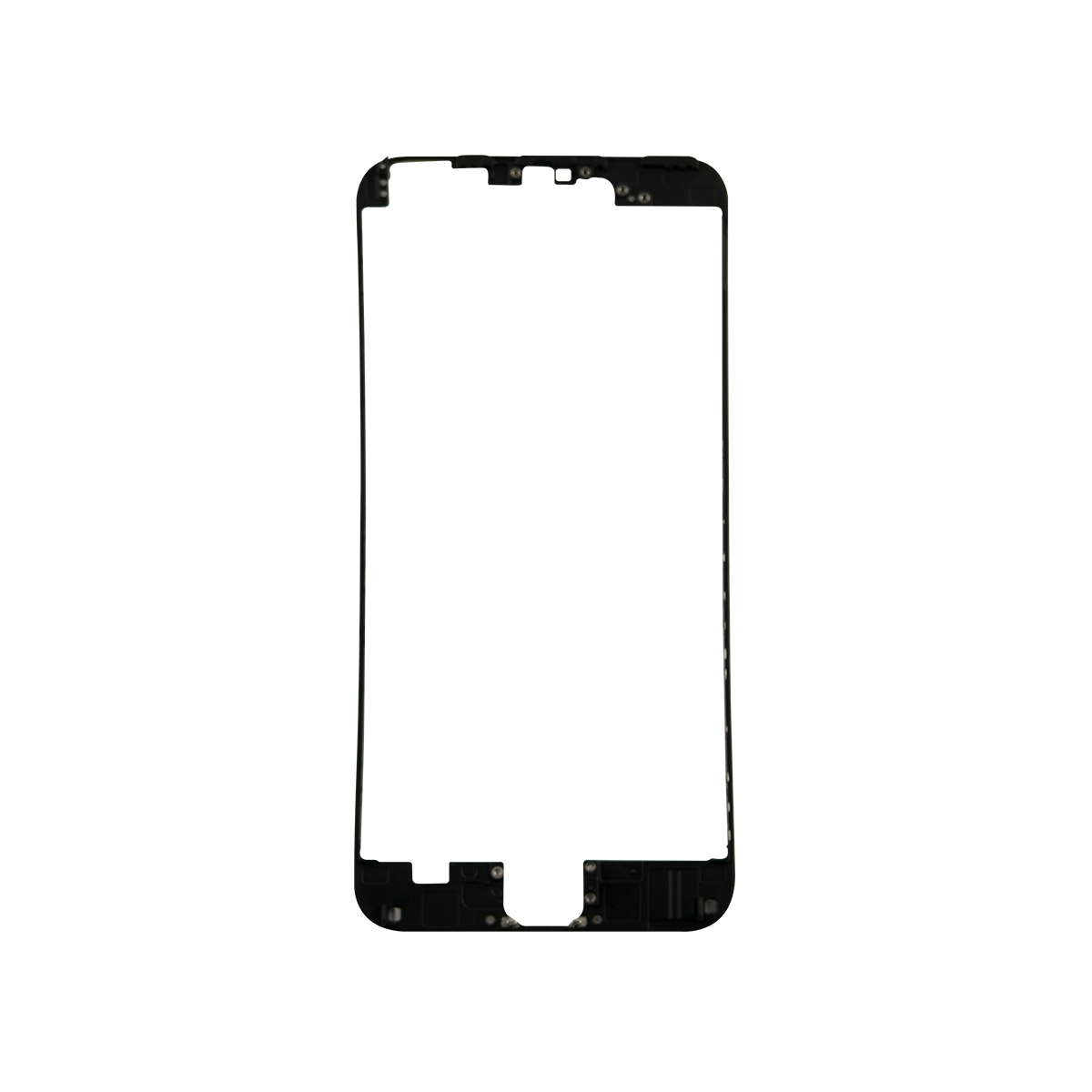 Iphone 6 frame png. Plus black front with