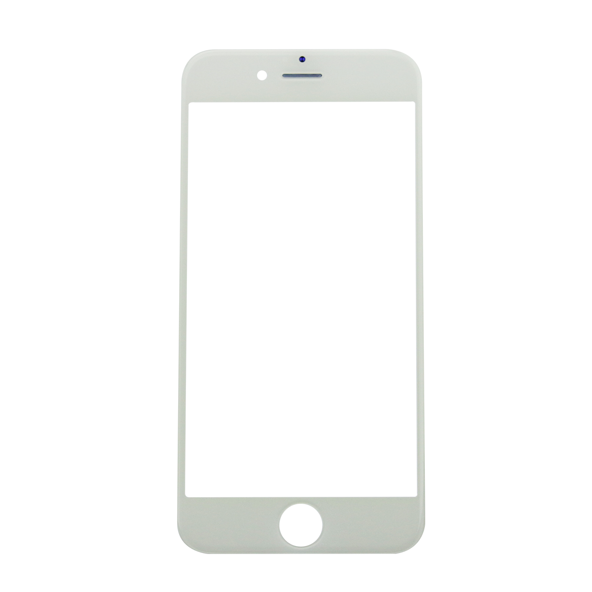 Iphone 6 frame png. White glass lens screen