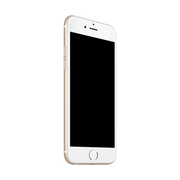 Iphone 7 blank screen png. Mockuphone template
