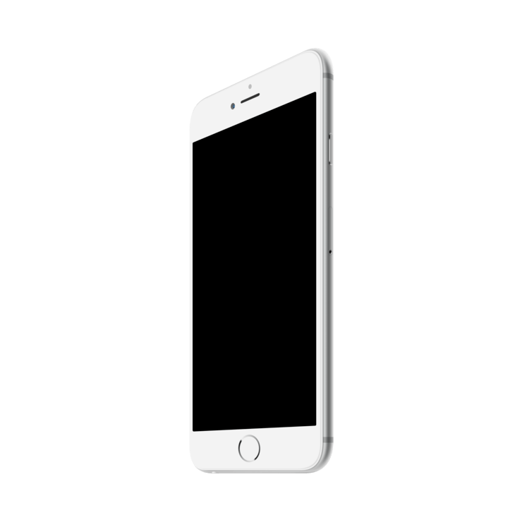 Iphone Template Png Graphic Library Stock
