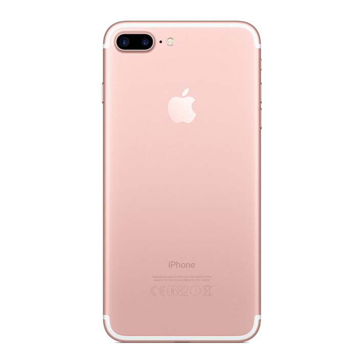 Iphone 7 plus image rose gold png. Starhub store apple back