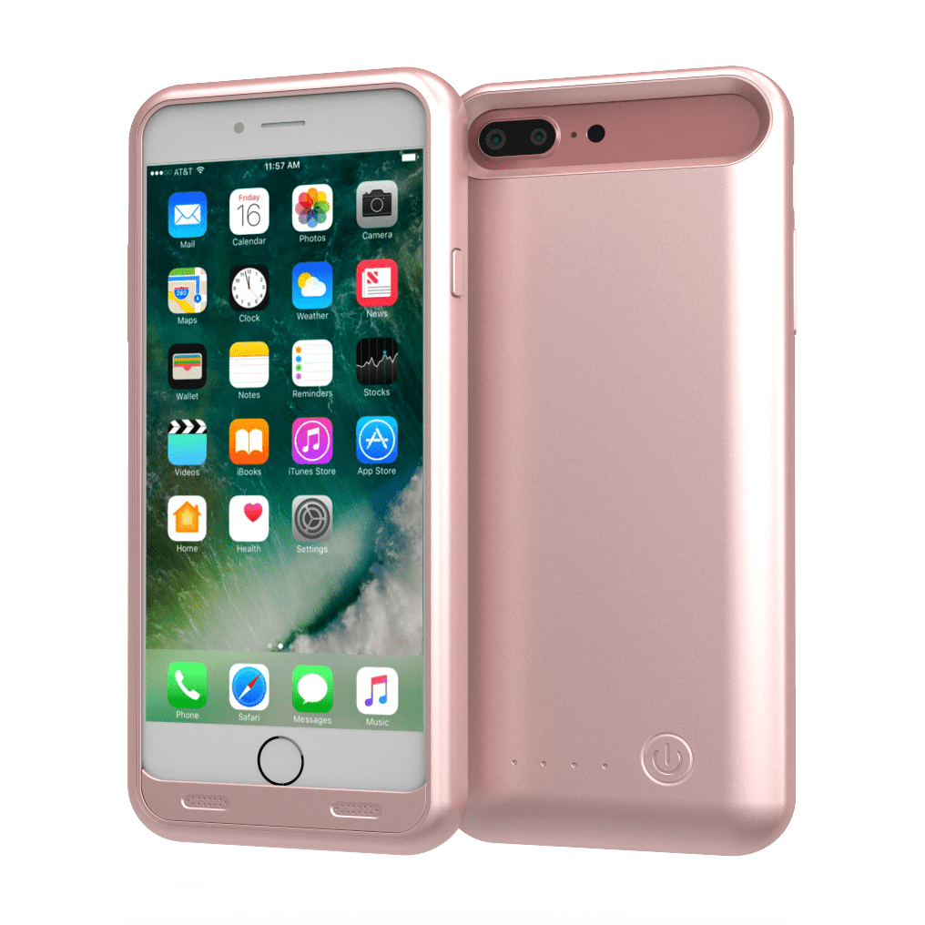 Iphone 7 plus image rose gold png. Tamo extended battery case
