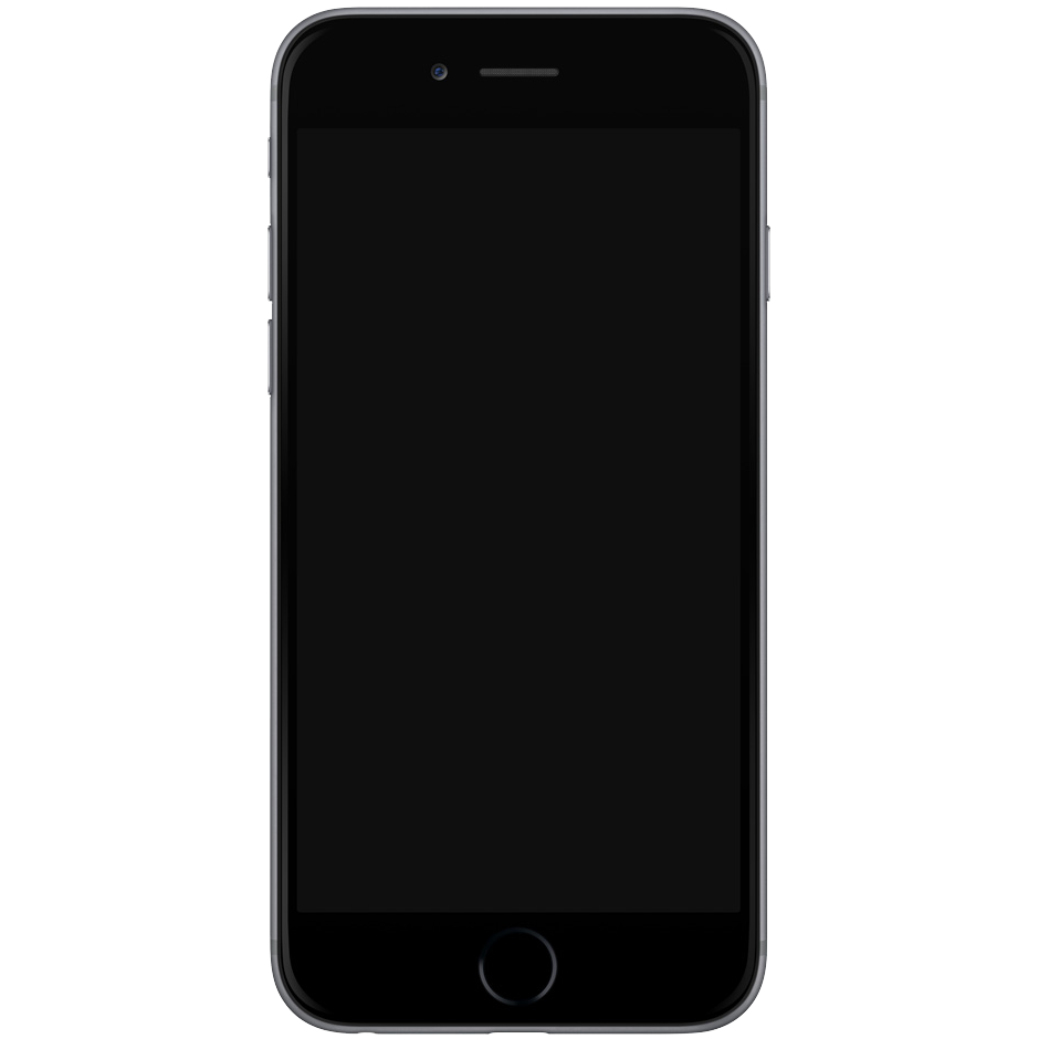 Iphone 7 plus transparent png. Black free icons and